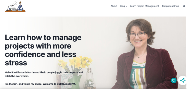 Girl's guide to project management is a project management blog for anyone looking to improve project management practices.