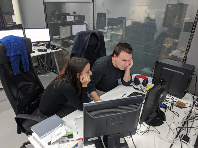 Dribia's data scientists hard at work